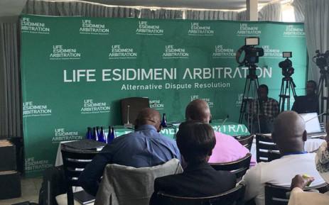 The Life Esidimeni arbitration hearing sitting in Parktown, Johannesburg. Picture: Masego Rahlaga/EWN