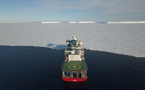 The SA Agulhas II. Picture: South African National Antarctic Programme.