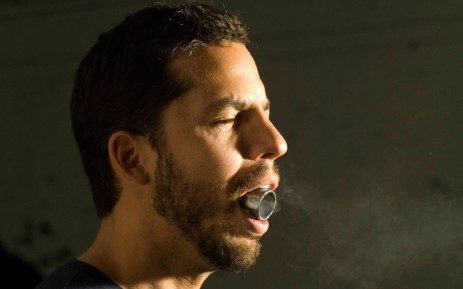 Magician David Blaine catches a bullet in his mouth. Picture:  davidblaine.com