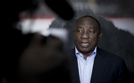 FILE: President Cyril Ramaphosa pictured on 22 May 2018 in Braamfontein, Johannesburg. Picture Sethembiso Zulu/EWN