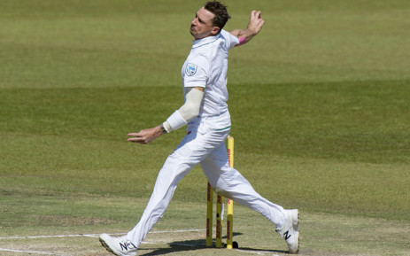 Proteas bowler Dale Steyn lets rip with a quick delivery. Picture: AFP