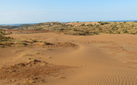 Xolobeni Mineral Sands Project on South Africa's east coast. Picture: mineralcommodities.com