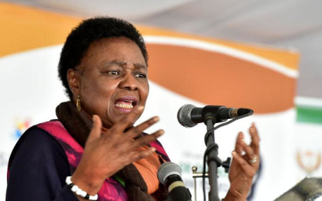 FILE: Higher Education and Training Minister Hlengiwe Mkhize. Picture: GCIS.