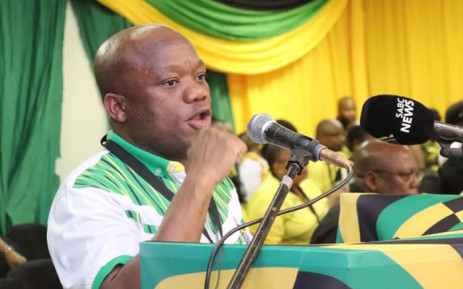 KZN ANC chairperson Sihle Zikalala at the provincial list conference on 12 December 2018. Picture: @ANCKZN/Facebook