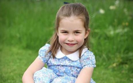 Princess Charlotte. Picture: @kensingtonfamily/instagram