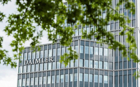FILE: To enable its shift to electric vehicles Daimler said it plans to open eight battery production facilities and planned to use a common battery platform across more than 90 percent of future vehicles. Picture: @Daimler/Twitter.