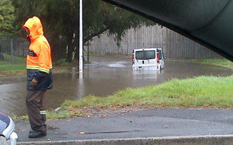 Heavy rains caused flooding in several Cape Town neighbourhoods. Picture: iWitness/@ek_capetown