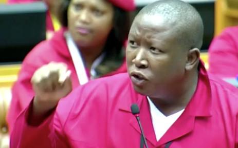 FILE: Julius Malema. Picture: Youtube.