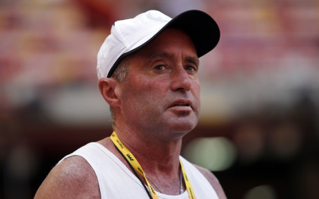 "FILE: In this file photo taken on 21 August 2015 Cuban-American coach Alberto Salazar attends a practice session ahead of the 2015 IAAF World Championships at the ""Bird's Nest"" National Stadium in Beijing. Picture: AFP"