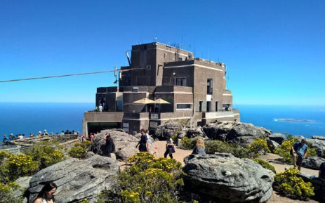 FILE: The cableway station on top of Table Mountain. Picture: Zunaid Ismael/EWN