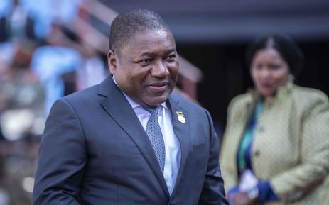 Mozambique President Filipe Nyusi. Picture: Picture: Abigail Javier/EWN