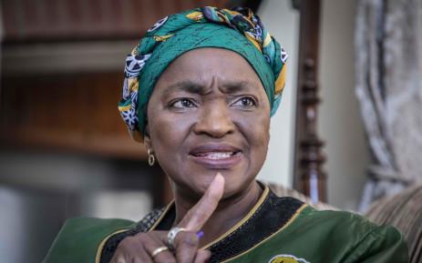 FILE: ANC Women's League president Bathabile Dlamini. Picture: Abigail Javier/EWN