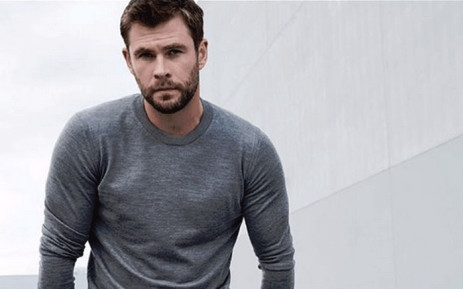 Actor Chris Hemsworth. Picture: @chrishemsworth/Twitter