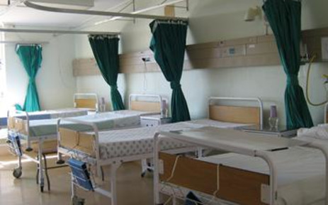 Empty hospital beds. Picture: Eyewitness News.