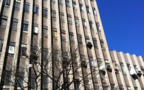Hijacked building in the JHB CBD. Picture: EWN.