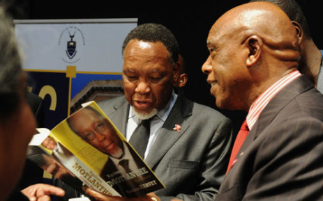 Deputy President Kgalema Motlanthe at the launch of his book on 11 October 2012. Picture: GCIS.