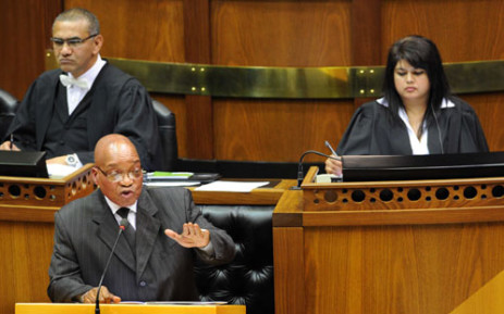 South African President Jacob Zuma addressed promises on a number of issues on Thursday 13 September 2012. Picture: GCIS.