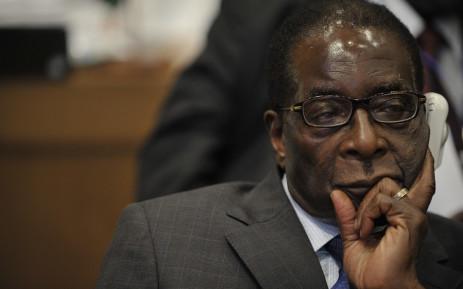 FILE: Former Zimbabwean president Robert Mugabe. Picture: Supplied.