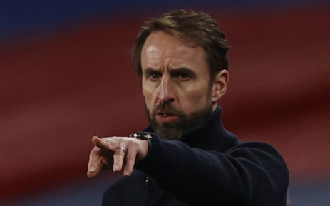 FILE: England's manager Gareth Southgate gestures from the touchline during the FIFA World Cup Qatar 2022 qualification football match between England and San Marino at Wembley Stadium in London on 25 March 2021. Picture: Adrian Dennis/AFP