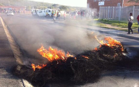 Macassar community members say residents in the area should be housed before Nomzamo evictees. Picture: Mia Spies.