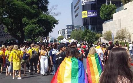 The 30th annual Joburg Gay Pride parade on 26 October 2019. Picture: Bonga Dlulane/EWN