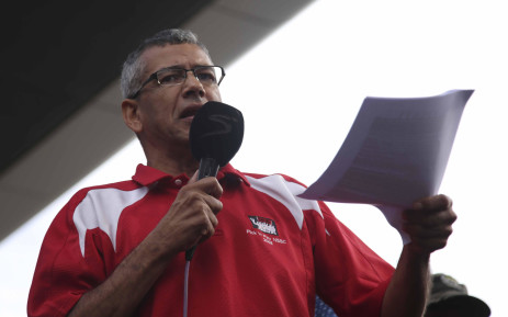 FILE: Tony Ehrenreich addresses workers at the May Day Rally in Cape Town on 1 May 2018. Picture: Cindy Archillies/EWN