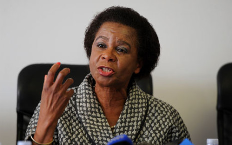 Agang SA leader Mamphela Ramphele holds a news conference in Johannesburg on Wednesday, 21 August 2013 where she disclosed her own financial affairs for the country to scrutinise. Picture: Sapa.