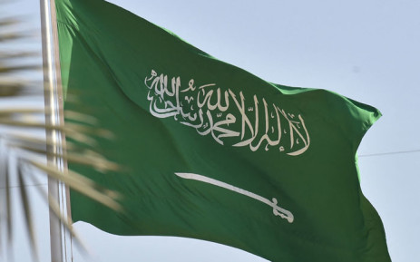 FILE: A Saudi national flag in the capital Riyadh. Picture: Fayez Nureldine /AFP