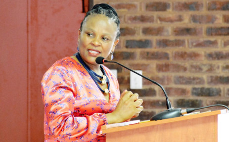 Public Protector Advocate Busisiwe Mkhwebane. Picture: @PublicProtector/Twitter