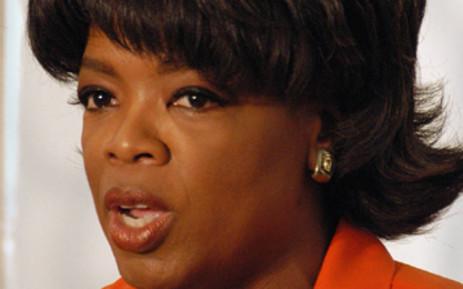 Talk Show host Oprah Winfrey. Picture: Shayne Robinson/SAPA