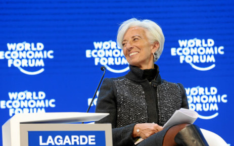 Christine Lagarde, Managing Director, International Monetary Fund (Christine Lagarde, Managing Director of the International Monetary Fund (IMF), smiles during the Annual Meeting 2016 of the World Economic Forum in Davos, Switzerland on 23 January 2016. Picture: World Economic Forum/swiss-image.ch/Moritz Hager.