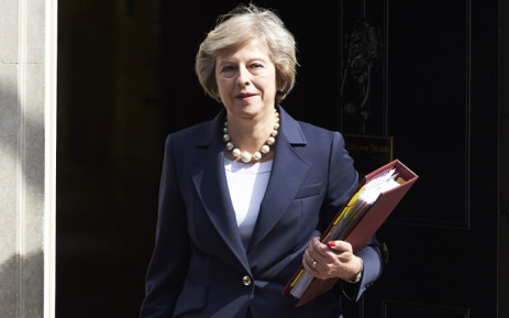 FILE: Theresa May. Picture: AFP.