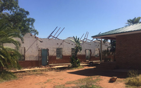Tshinavhe Secondary School was one of the worst affected schools during the protests this year and the school has still not been repaired. Picture: Masa Kekana/EWN