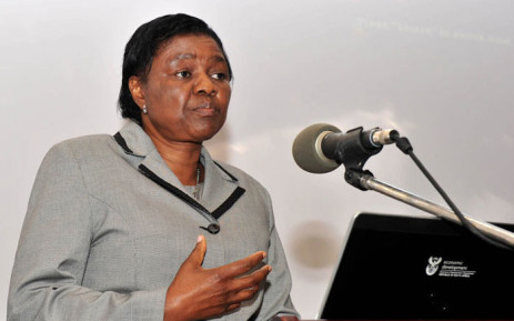 FILE: Home Affairs Minister Hlengiwe Mkhize. Picture: GCIS