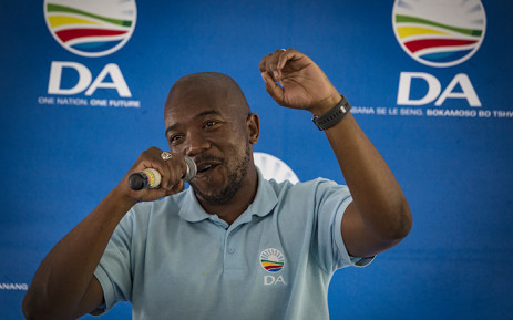 FILE: Democratic Alliance (DA) leader Mmusi Maimane says his party is concerned about the integrity of the elections. He was addressing DA supporters in Durban ahead of election day on 8 May. Picture: Sethembiso Zulu/EWN