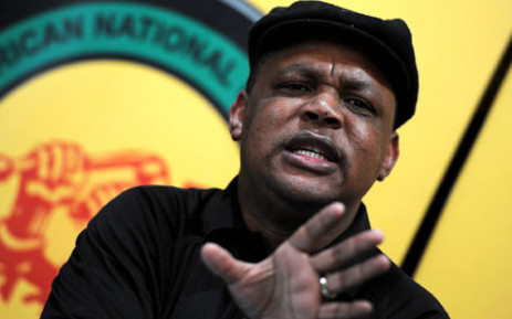 The ANCYL's Pule Mabe. Picture: Sapa.