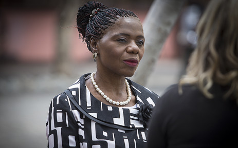 FILE: Public Protector Advocate Thuli Madonsela attended proceedings over the extent of her office's powers in the Nkandla matter at the Constitutional Court in Johannesburg on 09 February 2016. Picture: Reinart Toerien/EWN.