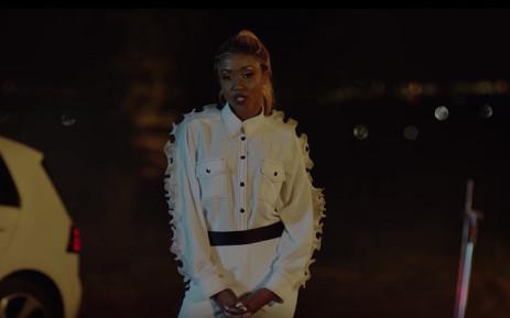 Nomuzi Mabena in a Drive Dry ad campaign. Picture: YouTube.