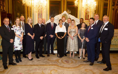 he Duke and Duchess of Sussex met with the 2019  Endeavour Fund Awards nominees om 7 February 2019. Picture: @KensingtonRoyal/Twitter