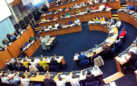 FILE: ANC councillors allegedly threw copies of the city's draft budget on the floor. Picture: Mia Spies/EWN.