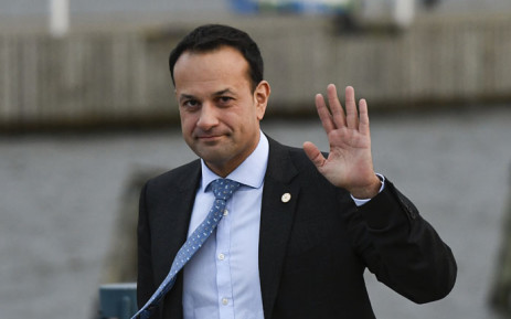 Ireland's Prime minister Leo Varadkar gestures after leaving the luncheon during the European Social Summit in Gothenburg, Sweden, on 17 November 2017. Picture: AFP