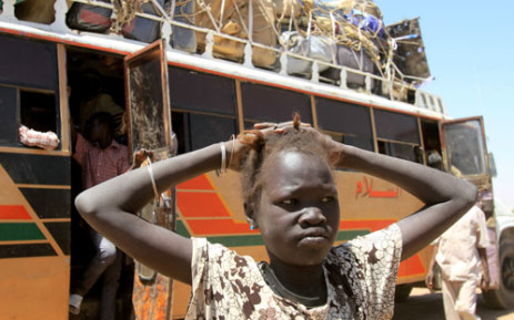 FILE: A young South Sudanese girl. Picture: AFP.