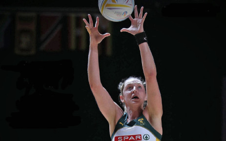 Erin Burger. Picture: @Netball_SA/Twitter.