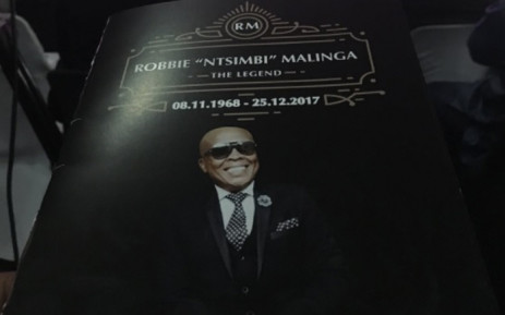 Family, friends and fans of Robbie Malinga have described him as a music legend and a uniting force. Picture: Hitekani Magwedze/EWN.
