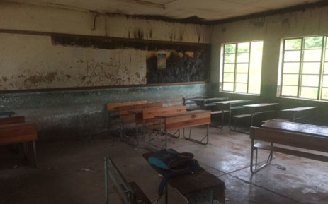 The Vhudzani secondary school is one the 17 schools which have been touched by the Vuwani community. Picture: Kgothatso Mogale/EWN.