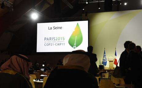 COP21 in Paris. Picture: AFP.