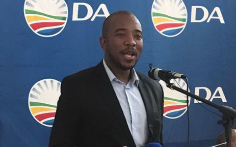 Democratic Alliance leader Mmusi Maimane. Picture: @Our_DA/Twitter