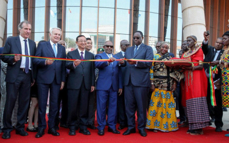 Dignitaries pose for a photo at the official opening of African Civilisations museum in Senegal that put at the head of continental efforts to decolonise knowledge. Picture: Supplied