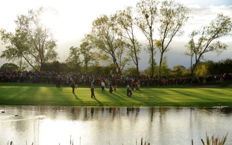 Holders Europe are considered the favourites to win the 40th edition of the biennial team event. Picture: AFP.