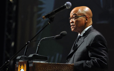 High flyer: President Jacob Zuma's office is in the market for a new presidential plane.